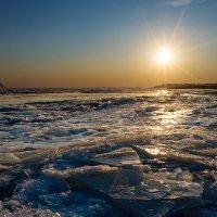 Ледяной закат. :: Поток