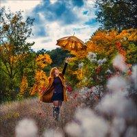 Зонт — это амулет от дождя. Когда он с вами — дождя не будет :) :: Алексей Латыш