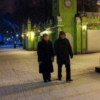 Вечерняя прогулка. :: Валерий Молоток