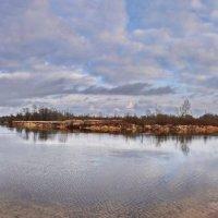 Холодная  река. :: Валера39 Василевский.