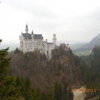 Замок в Альпах :: Мила