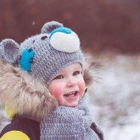 Первая встреча со снегом :: Инга Брицына