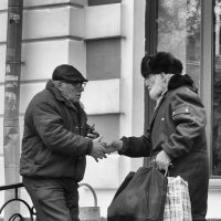 ...неожиданная встреча... :: Ольга Нарышкова
