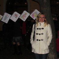 На фоне детских рисунков ко Дню Святого Мартина :: НаталиЯ ***