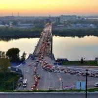 Канавинский мост в Нижнем Новгороде :: Денис Кораблёв
