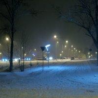 Зимний вечер и первый снег... :: VADIM *****
