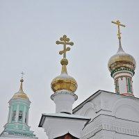 Золотые купола Вятки. :: Андрей Синицын