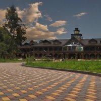 Гостиница в Пицунде :: Владимир Бегляров