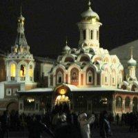 Казанский собор в новогоднюю ночь :: Дмитрий Никитин