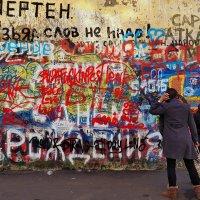 ..стена памяти Цоя... :: Ира Егорова :)))