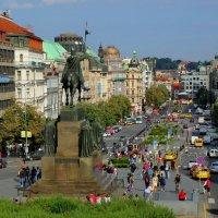 Вацлавская площадь в Праге. :: Александр TS