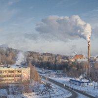 зима на Урале :: андрей
