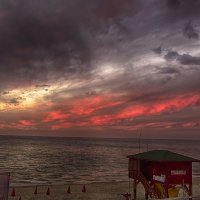 море при закате солнца :: Ефим Хашкес
