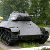 Лёгкий ТАНК Т-50  1941год :: Олег Савин