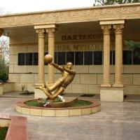 Памятник футбольной команде Пахтакор :: Светлана