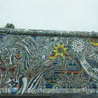 """Галерея """"East Side Gallery"""" - это самый длинный фрагмент Берлинской стены - 1316 метров :: Елена Павлова (Смолова)"""
