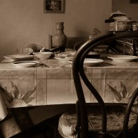 Ужин в деревне :: Людмила Быстрова