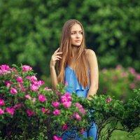 Мария в саду :: Liliya Nazarova