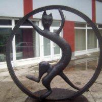 Памятник Черному коту в Рязани :: Tarka