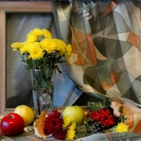 С жёлтыми хризантемами... :: Тамара (st.tamara)