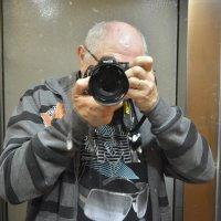 я в кабинке лифта) :: Ефим Хашкес