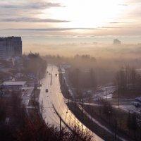 Город во власти тумана :: Дарья Киселева