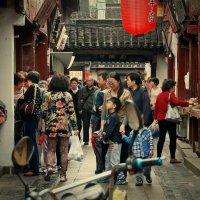 На улочках древнего Чибао (Qibao) :: Tatiana Belyatskaya