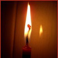 Медитация на свече :: Андрей Заломленков