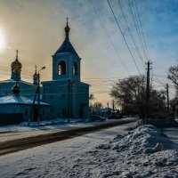 Старый Собор в Уральске :: Александр Облещенко