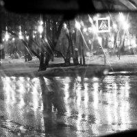 Ночной проспект в дождливый вечер :: Татьяна Губина