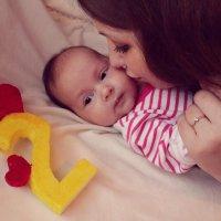 2 месяца красавице Нике :: Наталья Андреевна