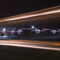 Ночной город. :: Оксана Евкодимова