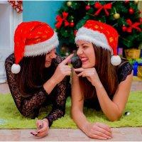 Лиза и Катя :: Анна Соколова