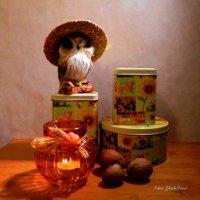 Совушка, мудрая головушка :: Nina Yudicheva
