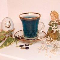 Синее чаепитие :: Юлия Филина