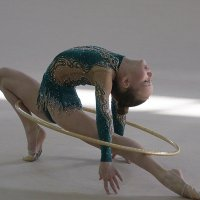 Упражнение с обручем :: Андрей Горячев
