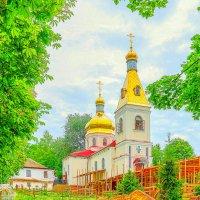 Церковь во имя свт. Николая Чудотворца. :: Elena Izotova