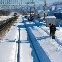 Станция Байкальск. ВСЖД :: Алексей Белик