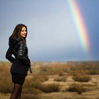 Прогулка с радугой :: Алексей Архипов