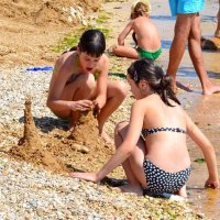 Песочные замки :: Виктор Шандыбин