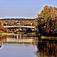 Вильнюс мост через Вилию... :: Dmitry Chudnovsky
