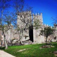 Замок Гимарайнш. Португалия :: Любовь Гиоргиевна