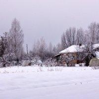 Домик в зимний день :: Талик К
