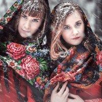 Аня и Юля начало зимы 2015 :: Стас Кашин