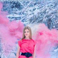 Ангел с розовыми крыльями :: Юлия