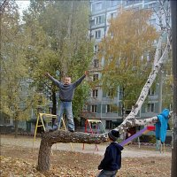 Осенние забавы :: Нина Корешкова