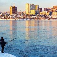 Рыбалка на Ангаре :: Анатолий Иргл