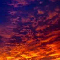 Переход из цвета в цвет, кусочек неба, Заказ 22.11.15, Краснодар :: Таня Харитонова