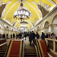 Станция метро Комсомольская :: Владимир Болдырев