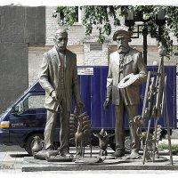 скульптура Церетели :: Natalia Mihailova
